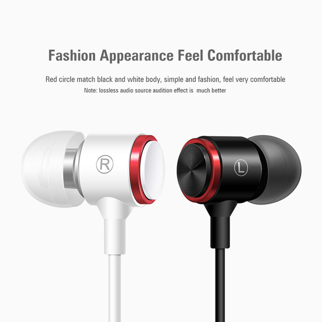 Duszake S320 Stereo Bass Headphone In-Ear 3.5MM Wired Earphones Metal HIFI Earpiece with MIC for Xiaomi Samsung Huawei Phones 2