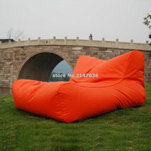 outdoor cordura fabric floating pool Floating wand water bean bag factory, landed relax lounger after floating