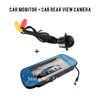 Car Monitor USB SD Slot LCD Rearview Mirro MP5 FM Transmitter Night Vision Waterproof Car Rear