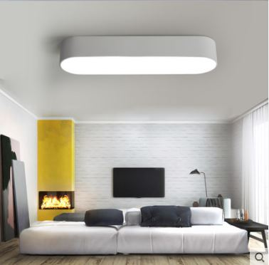 Simple modern ceiling light flush mount ceiling light black white room lamp plafon led home ceiling Fixtures deckenleuchten