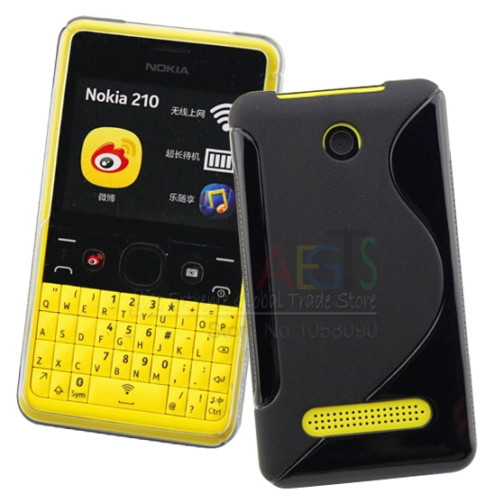 cheap for discount 4f751 8f37d US $1.99 |For Nokia 210 Case S Line Anti skid Soft TPU Case Cover Asha 210  Soft Gel TPU Protection Case Nokia 210 Case on Aliexpress.com | Alibaba ...