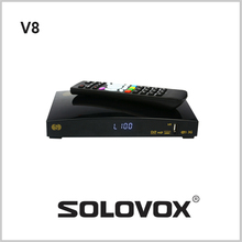 2 UNIDS S-V8 Original Receptor de Satélite/TV Box Soporte 2 WEB TV 3G sharging 150mbps Tarjeta de módem USB CCCAM/MGCAM/NEWCAM