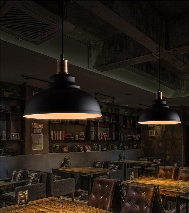 Vintage Pendant Lights Loft Pendant Lamp Retro Hanging Lamp Lampshade For Restaurant /Bar/Coffee Shop Home Lighting Luminarias