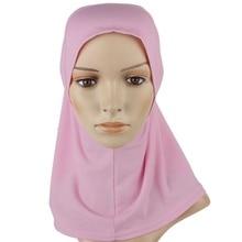 20 Color Hijab Islamic Band Neck Cover Head Wear Under Scarf Hat Cap Bone Bonnet