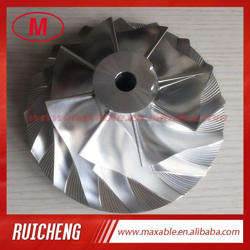 HX82 90 60 141 05mm 8 8 blades 3535772 3533703 3593182 Turbo Billet milling aluminum 2024