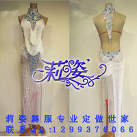 Professional custom dance dress latin dance dress girl or lady hot latin dancing dress competition