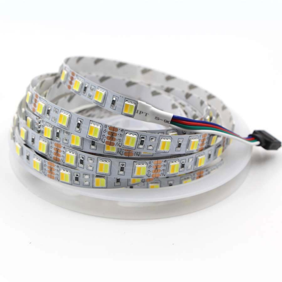 Lights & Lighting Analytical 2 Colors In 1 Led 5050 Led Strip Dual White 5630 Cw/ww Cct Color Temperature 5m Led Tape Lights Dc 12v Waterproof String Light Special Summer Sale