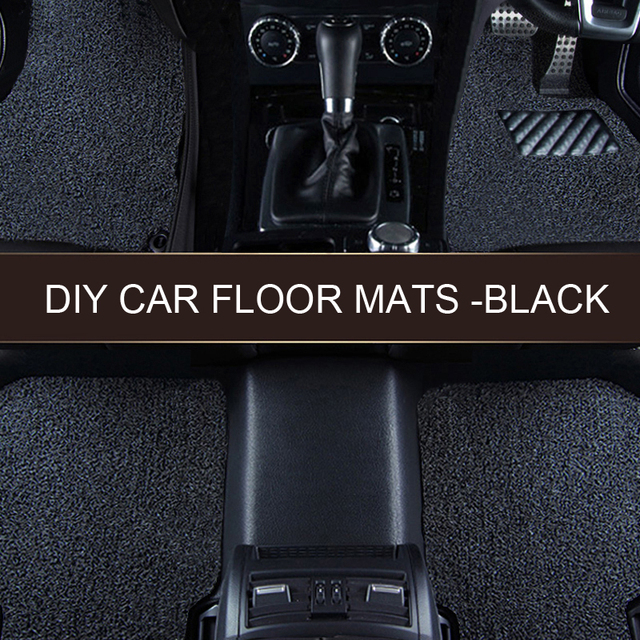 LUNDA  DIY Full Set Carpet Floor Mats, Free cutting,Universal Fit Mat for Car, SUV, Van & Trucks