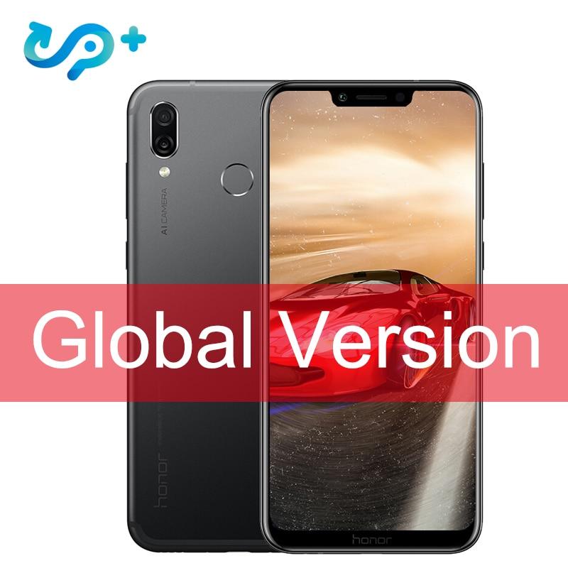 Original Global Version Huawei Honor Play 4G 64G 6.3 inch Kirin 970 Octa Core Mobile Phone Dual Rear Camera game phone Face ID