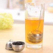1 Pcs Teaware Tea Leaf Spice Strainer w/hook Loose Hangable Home Kitchen Accessories Tea Infuser Mesh Filter
