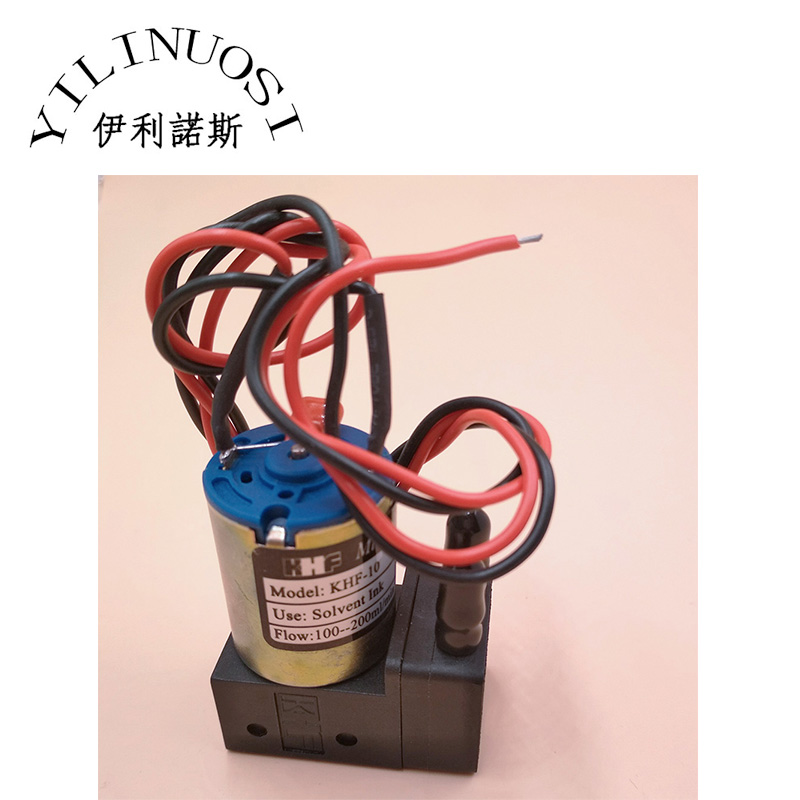 KHF 10 Ink Pump 24V 3W 100 200ml min Outdoor Printer Solvent Inkjet Printer KHF080910 in Printer Parts from Computer Office