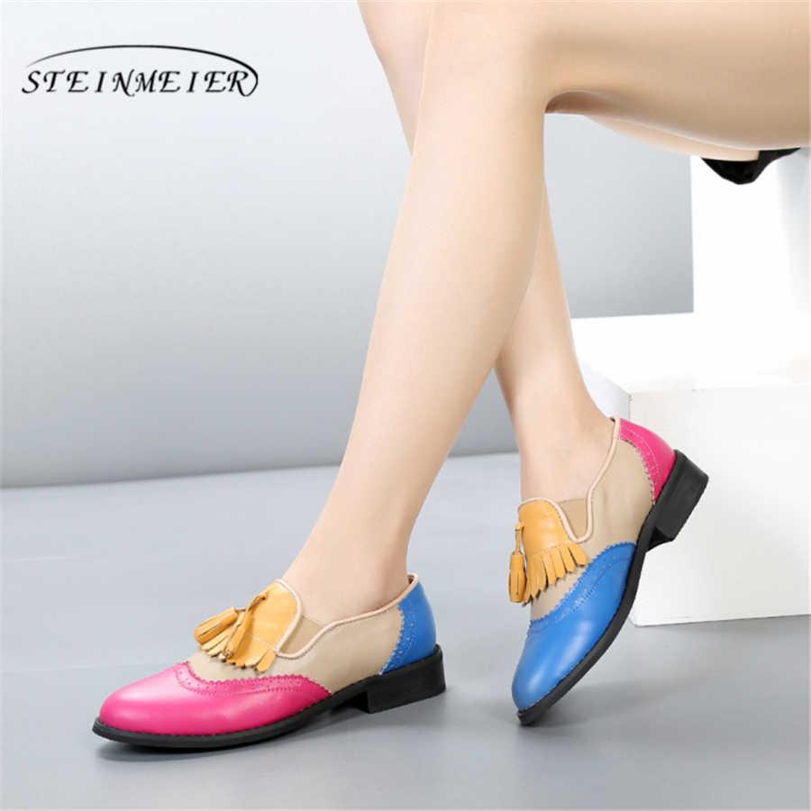 Женские туфли-оксфорды; сезон весна; женские лоферы из натуральной кожи; женские кроссовки; женские туфли-оксфорды; женские тонкие туфли на ремешке; Летняя обувь 2019 года