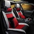 3D Сиденье Автомобиля Покрытие Автомобиля Охватывает, Стайлинга Автомобилей Для Hyundai ix35 ix25 i30 Elantra Санта-Фе Соната Tucson 2016 Veloster Акцент Solaris