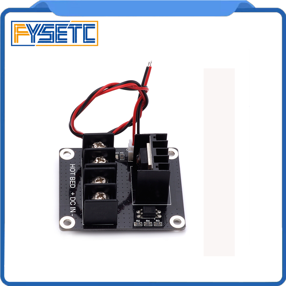 2pcs 3D Printer Mosfet Heated Bed Power Module MKS Ramps 1.4 Anet A8 A6 A2