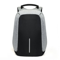 15-дюймовый рюкзак для ноутбука зарядка через usb Анти-кражи рюкзак Для мужчин путешествия рюкзак Водонепроницаемый школьная сумка Mochila
