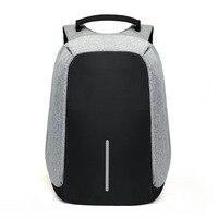 15 дюймов рюкзак для ноутбука usb зарядка Анти-кража рюкзак мужской рюкзак путешествия рюкзак водостойкая школьная сумка мужской Mochila