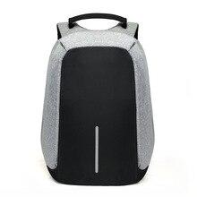 15 polegada portátil mochila de carregamento usb anti roubo mochila de viagem dos homens à prova dwaterproof água saco escolar masculino