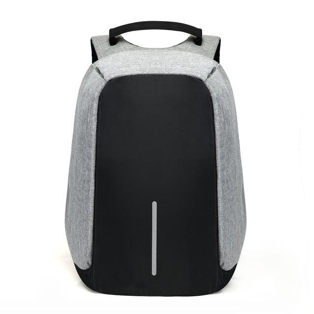 Polegada Laptop Mochila de 15 USB de Carregamento Anti Roubo Mochila Homens Mochila de Viagem À Prova D' Água Saco de Escola Masculino Mochila