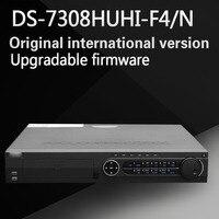 Darmowa wysyłka English version DS-7308HUHI-F4/N 8ch Turbo HD DVR obsługuje HD-TVI 3MP 4 SATA/analog/IP kamery trzyosobowy hybrid