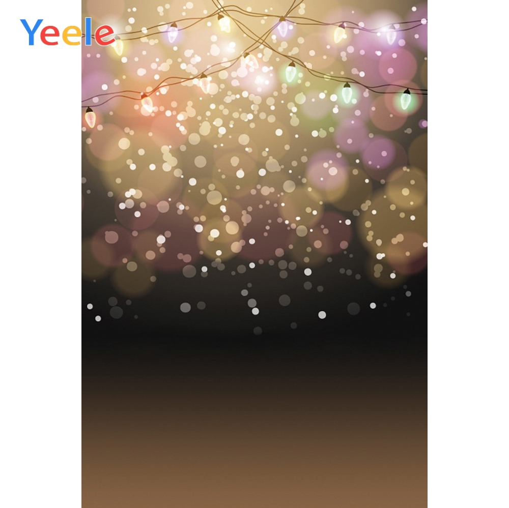 Yeele Professional Photography Backdrops Glitters Dreamy LED Light Bokeh Flash Spot Photographic Backgrounds For Photo Studio in Background from Consumer Electronics
