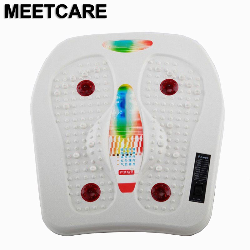 Infrared Reflexology Foot Massager Electric Machine Automatic Roller Feet Care Massager Circulation Therapy Heater SPA