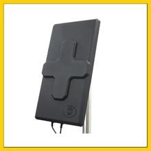 2 * 24BDI 4G LTE наружная антенна MIMO LTE dual Поляризация антенны Панель SMA разъем 10 м кабеля для huawei ZTE3G 4G маршрутизатор
