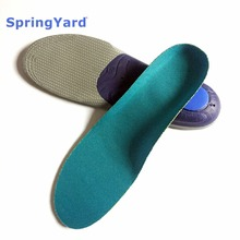 SpringYard EVA Sport Orthopedic Insoles Arch Support Shock-Absorption Cushion Shoe Pad Running Breathable Train For Men Women