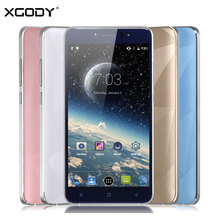 Xgody 5.5 Pouce Smartphone 1 GB RAM 8 GB ROM Quad Core Android 6.0 D10 Dual Sim Cartes Wifi Telefone Celular 3G Pas Cher Mobile téléphone