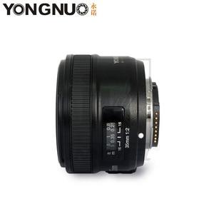 Image 3 - YONGNUO YN35mm F2.0 F2N weitwinkel AF/MF Fixfokus objektiv für Nikon F Mount D7100 D3200 D3300 D3100 D5100 D90 DSLR Kamera 35mm