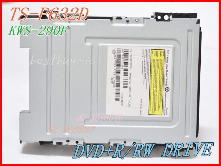 TS P632D / TS-P632D Sistema de audio DVD + R / RW DRIVE Modelo TS-P632D / SDEH DVD LASER HEAD