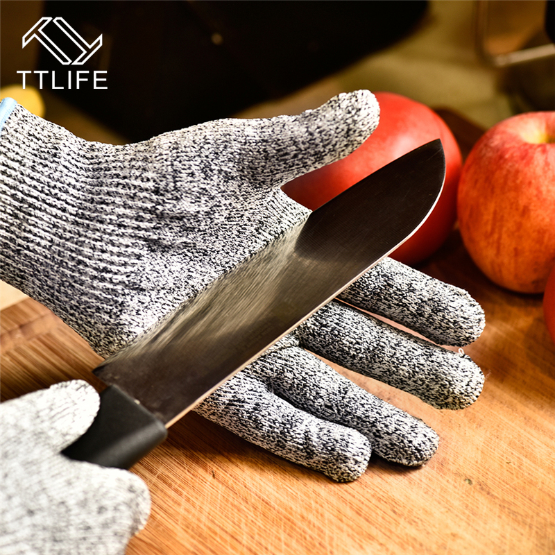 TTLIFE Cut Resistant Gloves Home Kitchen Work Food Contact