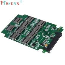 """10 x tarjeta de memoria sd micro tf al adaptador sata ssd + raid quad 2.5 """"sata convertidor"""