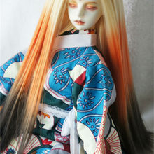 JD279 1/3 SD термостойкость BJD парик краситель кукла парик