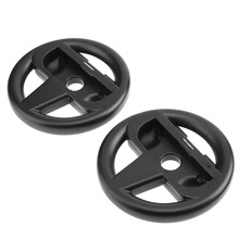 2pcs Racing Game Steering Wheel Controller Game Console Bracket for Switch Joy-Con Games Remote Controller Console