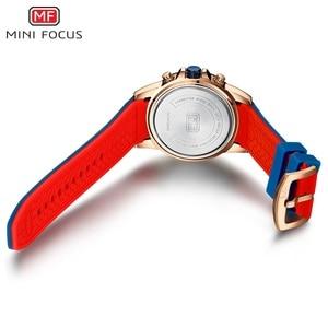 Image 5 - MINIFOCUS Top mannen Mode Sport Horloges Mannen Quartz Analoog Datum Klok Man Siliconen Militaire Waterdicht Horloge Relogio Masculino