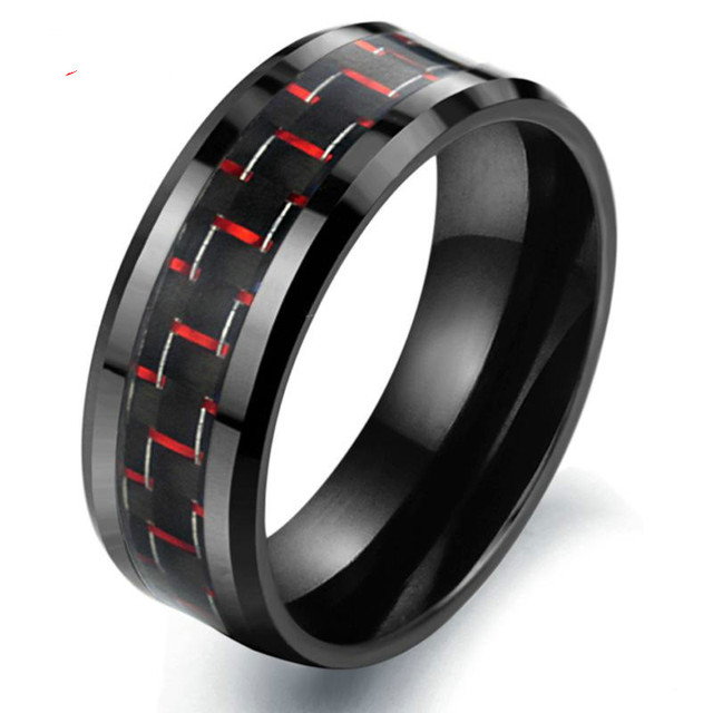 Korean Jewelry Natural Shell Black Ceramic Ring Space Designer