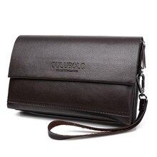 Echtes Leder männer Standard Lange Brieftasche Cartera Hombre Männlichen Handliche Taschen Kupplung Geldbörse Männer Monederos Brieftaschen Luxus Berühmte Marke