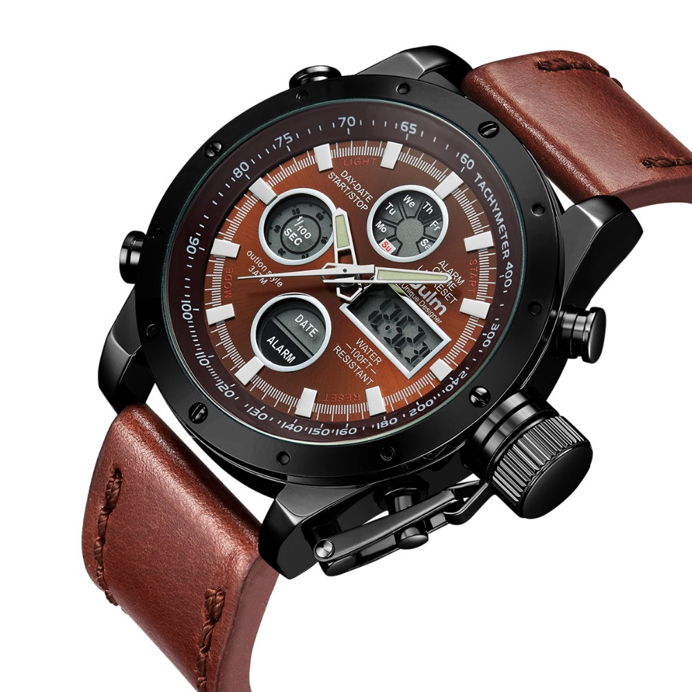 2018 OULM часы Для мужчин бренд кварцевые Для мужчин Спорт Полный Сталь часы Для мужчин цифровой часы человек военный наручные часы relogio mascul