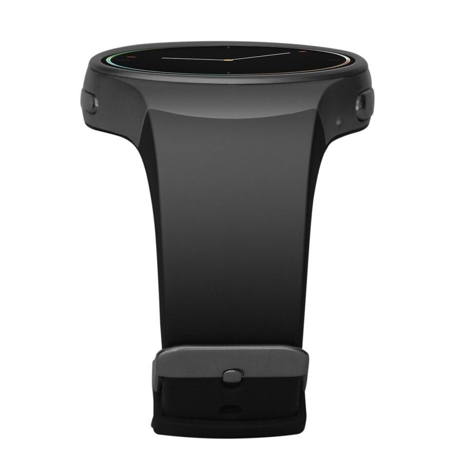 KW18 Smartwatch 1.3 pouces cadran rond téléphone podomètre rappel sédentaire BT4.0 moniteur de fréquence cardiaque montre intelligente - 4