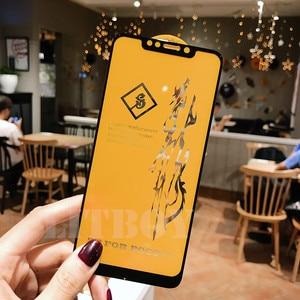 Image 2 - 6D Premium Gehärtetem Glas Für Xiaomi Pocophone F1 Redmi 6 Pro A1 A2 Schutz Glas Für Xiaomi Redmi Hinweis 6 screen Protector