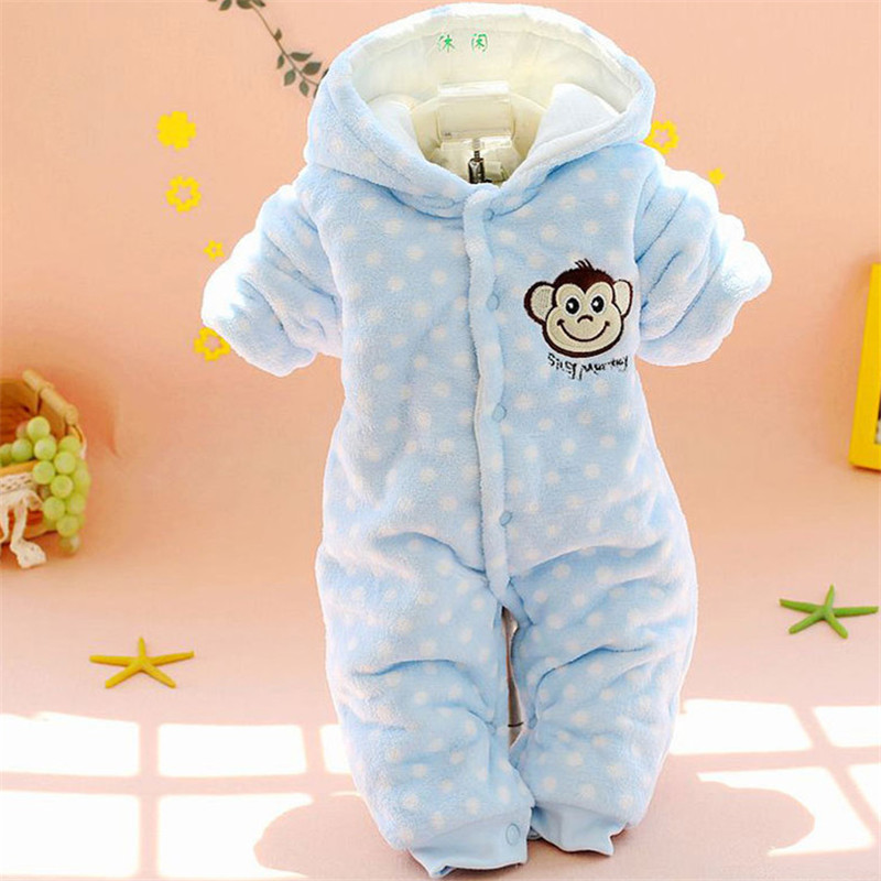 2017 Baby Rompers Warm Cotton Girls Winter Coat Jumpsuits Next Boy Parkas Clothing Thicken Casaco Newborn Overalls Baby Clothes cotton baby rompers set newborn clothes baby clothing boys girls cartoon jumpsuits long sleeve overalls coveralls autumn winter