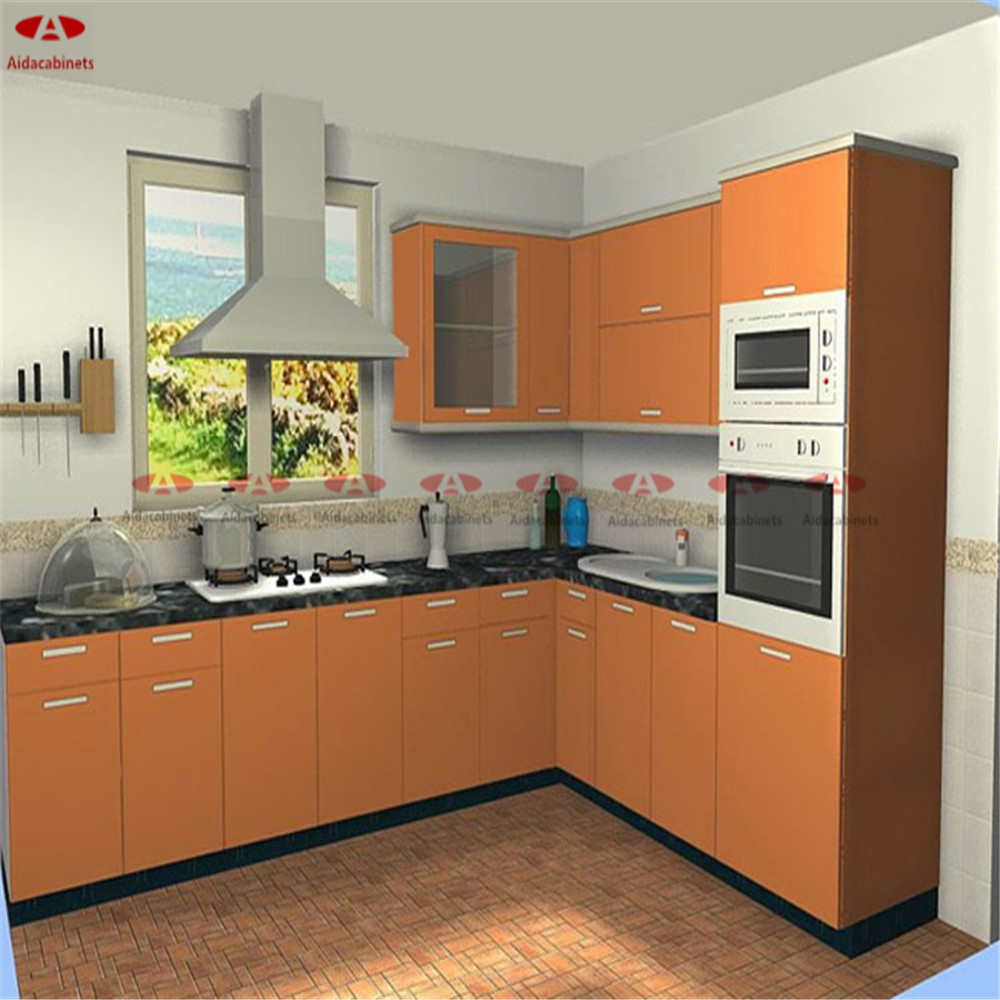 Stainless Steel Dinding Dapur Kabinet