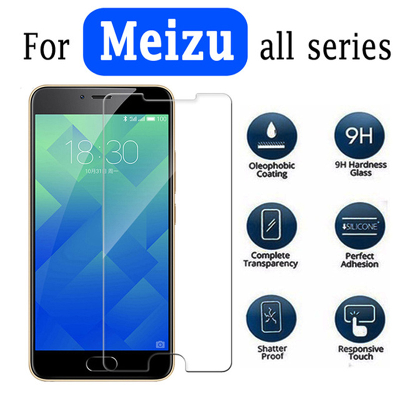 Adroit Protective Glass For Meizu U10 Glass On For Maze 5 Maisie M2 Note M3s M3 M5 5c M5 M6 M 6s S 6 U 10 Screen Protector Tempered 9h Consumers First