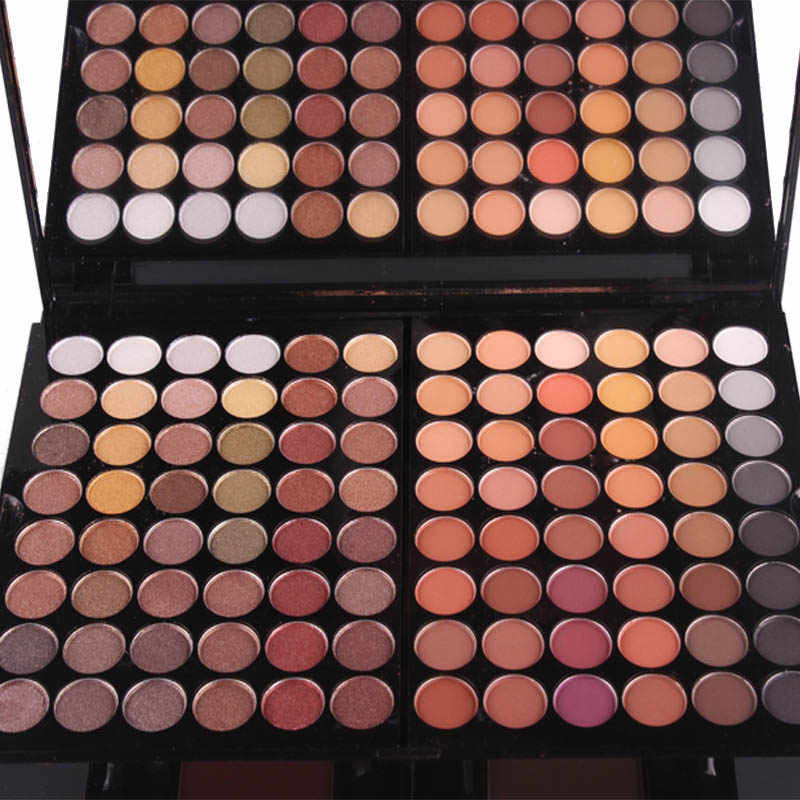 Hot sale Miss Rose Professional Makeup 180 Colors Matte Shimmer Palette Powder Blush Eyebrow Contouring Beauty Kit Box