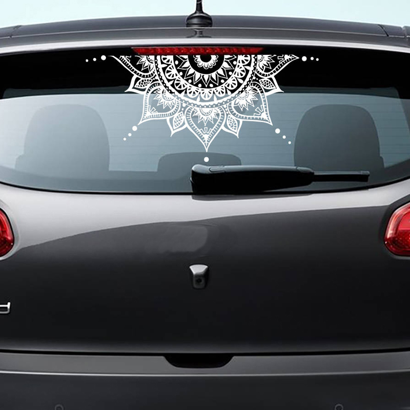 Flower Decal |Decorative Car Decals Mandala Car decal Mandala Sticker Mandala Vinyl Decal Sticker