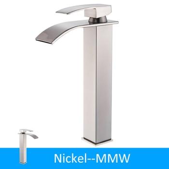 Black Bronze Waterfall Basin Faucet Bathroom Sink Water Tap Single Handle Hot Cold Water Mixer Tap Bathroom Torneiras Crane Tap 11