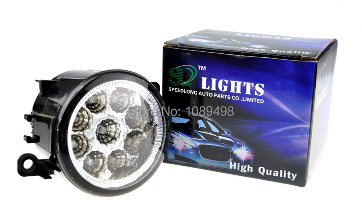 1 Piece RH=LH Front Fog lamp light LED DRL 2N11-15201-AB for FORD Focus 2 3 2009-2014