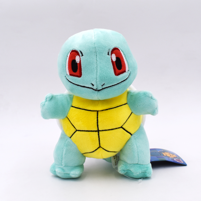 19cm Squirtle Plush Toys Kawaii Cartoon Anime Peluche Soft Stuffed Dolls Gift For Children's Christmas Free Shipping free shipping 70cm sofia the first princess sofia doll plush toys 70cm stuffed soft toys dolls for christmas gift
