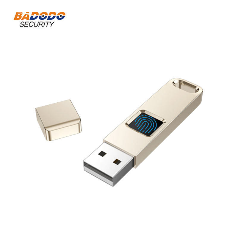 32GB 64GB Fingerprint Encrypted USB 2.0 Flash Drive High Tech Pen Drive Security Memory USB Disk Stick
