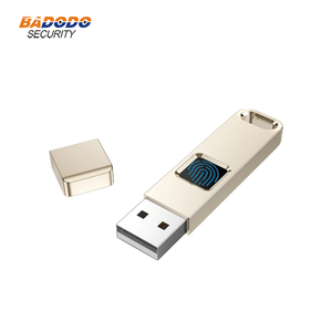Image 1 - 32 기가 바이트 64 기가 바이트 지문 암호화 된 USB 2.0 플래시 드라이브 하이테크 펜 드라이브 보안 메모리 USB 디스크 스틱